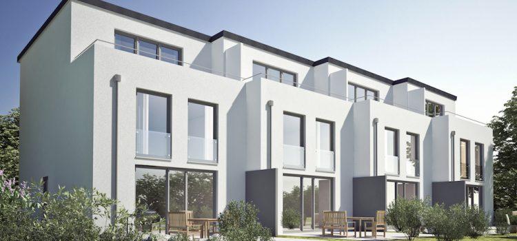 Neubau – Reihenstadthäuser in Schenefeld